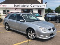 2007 SUBARU IMPREZA 2.0 RX Sports Wagon Automatic Estate £2999.00