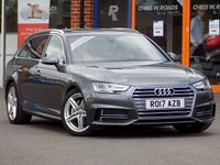 USED 2017 17 AUDI A4 AVANT 2.0 TDi S Line 5dr Estate ** Sat Nav + Half Leather **