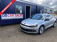 USED 2013 13 VOLKSWAGEN SCIROCCO 2.0 GT TDI BLUEMOTION TECHNOLOGY 2d 140 BHP 0 DEPOSIT, DRIVE AWAY TODAY!!