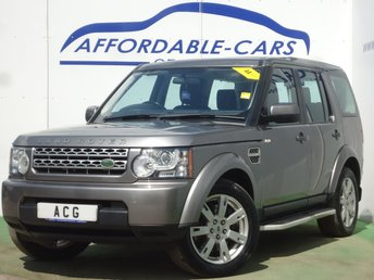 2010 LAND ROVER DISCOVERY 3.0 4 TDV6 GS 5d 245 BHP £11500.00