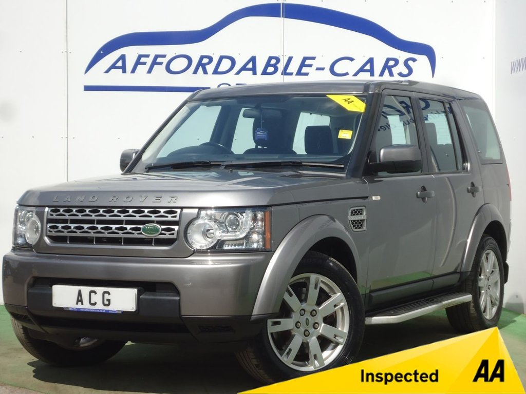 USED 2010 60 LAND ROVER DISCOVERY 3.0 4 TDV6 GS 5d 245 BHP