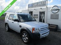 USED 2007 LAND ROVER DISCOVERY 2.7 3 TDV6 SE 5d AUTO 188 BHP
