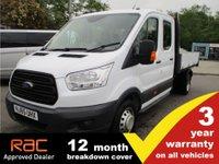 2015 FORD TRANSIT 350 L3 RWD 1-Stop Crewcab Tipper £12995.00
