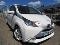 USED 2016 66 TOYOTA AYGO 1.0 VVT-I X-PURE 5d 69 BHP Nil tax Alloys & front fogs**  Ideal first car ** Reverse camera Multi media system & much more Take a test drive today