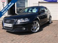 USED 2009 09 AUDI A3 2.0 TDI S LINE 5d 138 BHP SUPPLIED WITH 12 MONTHS MOT, LOVELY CAR TO DRIVE