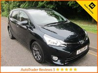 USED 2015 15 TOYOTA VERSO 1.8 VALVEMATIC TREND 5d AUTO 145 BHP.*SAT NAV*ULEZ COMPLIANT Great Value One Owner Automatic Toyota Verso Trend with Seven Seats, Climate Control, Cruise Control, Alloy Wheels and Toyota Service History. This Vehicle is ULEZ Compliant