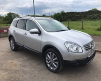 USED 2009 09 NISSAN QASHQAI+2 2.0 DCI N-TEC PLUS 7 SEATS 4x4 5dr 148 BHP 6 MONTHS PARTS+ LABOUR WARRANTY+AA COVER