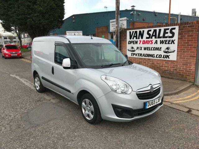 2015 65 VAUXHALL COMBO 1.3CDTi 16v ( 90PS ) L1H1 2015MY Sportive 2000* LOW MILES*
