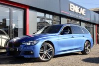 USED 2018 67 BMW 320d 2.0 320D XDRIVE M SPORT SHADOW EDITION TOURING 5d AUTO 188 BHP X DRIVE*SHADOW EDITION*HARMAN KARDON*BLACK KIDNEY GRILLS*PRIVACY GLASS*ESTROIL BLUE*HPI CLEAR*BARGAIN AT THIS PRICE BE QUIK CAR IS IMMACULATE CONDITION*FULL BMW SERVICE HISTORY*