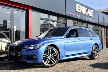 2018 BMW 320d 2.0 320D XDRIVE M SPORT SHADOW EDITION TOURING 5d AUTO 188 BHP £20995.00