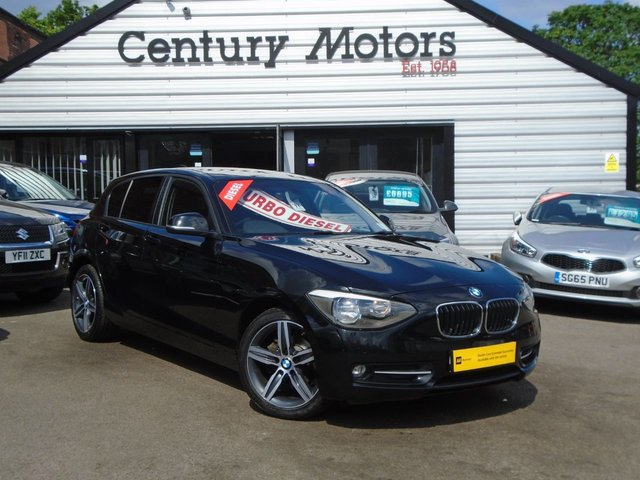 2015 64 BMW 1 SERIES 2.0 116D SPORT 5d - NEW SHAPE