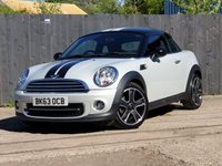 USED 2013 09 MINI COUPE 1.6 COOPER 2d 120 BHP