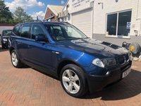 2004 BMW X3 2.5 SPORT 5d AUTO 190 BHP £3295.00
