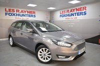 USED 2016 65 FORD FOCUS 1.6 TITANIUM 5d AUTO 124 BHP reverse sensors, 1 Owner, cruise control, bluetooth, full ford service history