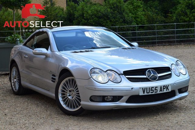 View our MERCEDES-BENZ SL 55 AMG