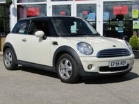 USED 2006 56 MINI HATCH COOPER 1.6 COOPER 3d 118 BHP FINANCE OR CREDIT CARDS NOT ACCEPTED.
