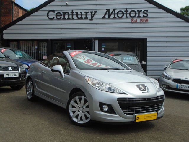2013 63 PEUGEOT 207 1.6 CC ALLURE 2d FULL BLACK LEATHER