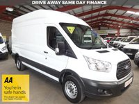 "USED 2017 67 FORD TRANSIT 2.0 350 L3 H3 P/V DRW 129 BHP EURO 6  LWB HI ROOF VAN ""YOU'RE IN SAFE HANDS"" - AA DEALER PROMISE"