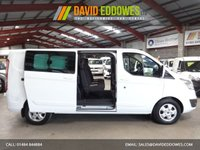 """USED 2016 16 FORD TRANSIT CUSTOM 2.2 290 LIMITED L2 LWB LR DCB 125 BHP 6 SEAT DOUBLE CAB CREW VAN """"YOU'RE IN SAFE HANDS"""" - AA DEALER PROMISE"""