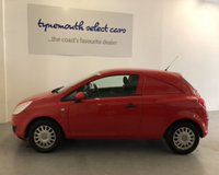 USED 2008 58 VAUXHALL CORSA SWB CDTI Compact very clean Corsa van in bright red -economical value for money van -ideal for sign writing and for advertising your small business