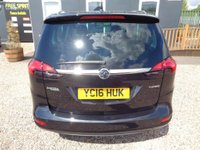 USED 2016 16 VAUXHALL ZAFIRA TOURER 1.4 i 16v Turbo SRi 5dr Bluetooth, DAB, P-Sensors