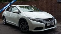 USED 2012 12 HONDA CIVIC 1.8 I-VTEC SE 5d 140 BHP