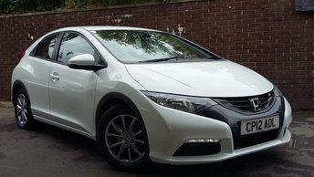 2012 HONDA CIVIC 1.8 I-VTEC SE 5d 140 BHP £6689.00