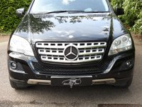 USED 2010 60 MERCEDES-BENZ M CLASS 3.0 ML350 CDI BLUEEFFICIENCY SPORT 5d AUTO 231 BHP HUGE SPEC 73K FMBSH SAT NAV
