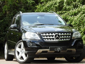 2010 MERCEDES-BENZ M CLASS 3.0 ML350 CDI BLUEEFFICIENCY SPORT 5d AUTO 231 BHP £9990.00