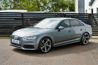 2016 AUDI A4 2.0 TDI S LINE 4d 190 FASH BLACK EDITION STYLING £15945.00