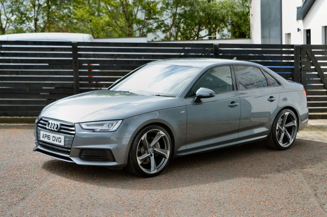 2016 16 AUDI A4 2.0 TDI S LINE 4d 190 FASH BLACK EDITION STYLING