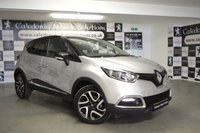 USED 2016 16 RENAULT CAPTUR 1.5 DYNAMIQUE S NAV DCI 5d 90 BHP ONE OWNER FROM NEW with FULL MAIN DEALER HISTORY & A FEB 2020 MOT, HAVING ONLY DONE 4700 MILES , THIS CAR REPRESENTS A FANTASTIC SAVING FOR A CAR THAT IS LIKE NEW