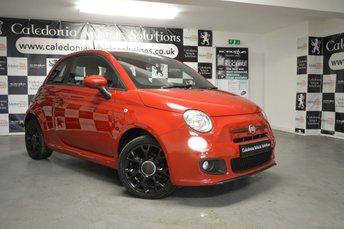 2013 FIAT 500 1.2 S 3d 69 BHP £5250.00