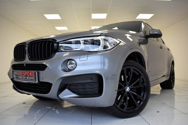 2014 64 BMW X6 XDRIVE30D M SPORT AUTOMATIC