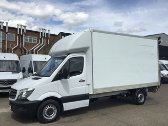 2015 MERCEDES-BENZ SPRINTER 2.1 313CDI LWB LUTON BOX TAIL-LIFT. LOW 84,000 MILES. FSH. PX £10990.00