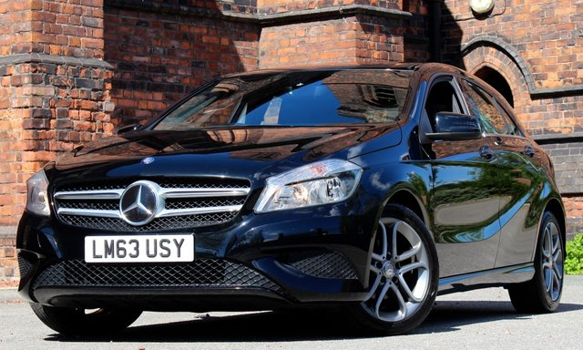 2013 63 MERCEDES-BENZ A CLASS 1.8 A180 CDI BLUEEFFICIENCY SPORT 5d AUTO 109 BHP
