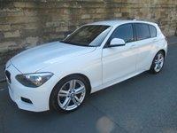2012 BMW 1 SERIES 1.6 118I M SPORT 5d 168 BHP £9900.00