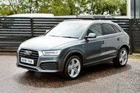 USED 2016 16 AUDI Q3 2.0 TDI QUATTRO S LINE PLUS 5d 184 6 MONTHS RAC WARRANTY FREE + 12 MONTHS ROAD SIDE RECOVERY!