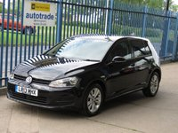 2013 VOLKSWAGEN GOLF 1.6 SE TDI BLUEMOTION TECHNOLOGY 5d Bluetooth & audio DAB Privacy £7500.00