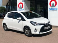 USED 2016 16 TOYOTA YARIS 1.0 VVT-I ICON 5d 69 BHP 1 OWNER | BLUETOOTH | DAB |