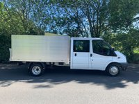 USED 2012 61 FORD TRANSIT 350 ARBORIST TIPPER NEW ALLOY BODY