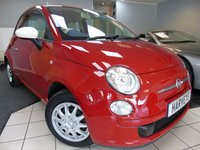 2013 FIAT 500 1.2 COLOUR THERAPY 3d 69 BHP £4295.00
