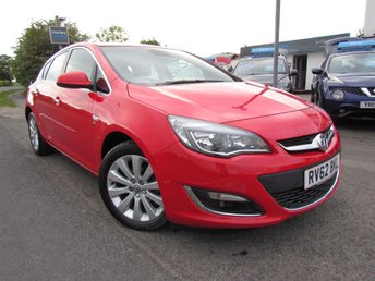 2012 VAUXHALL ASTRA SE 5dr Automatic £6295.00