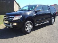 USED 2015 15 FORD RANGER 2.2 LIMITED 4X4 DCB TDCI 1d 148 BHP ///// 1 OWNER FROM NEW  ////