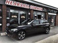 2013 BMW 1 SERIES 1.6 116I SPORT 5d 135 BHP £8000.00