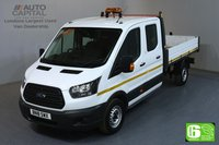 USED 2018 18 FORD TRANSIT 2.0 350 L3 LWB 129 BHP RWD 7 SEATER DOUBLE CAB TIPPER EURO 6 MANUFACTURER WARRANTY UNTIL 27/03/2021