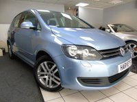 2011 VOLKSWAGEN GOLF PLUS 1.6 SE TDI 5d 103 BHP £5750.00