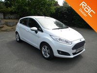 USED 2016 16 FORD FIESTA 1.2 ZETEC 5d 81 BHP Bluetooth, DAB, Alloy Wheels, Front Heated Windscreen, Air Con, Alloy Wheels