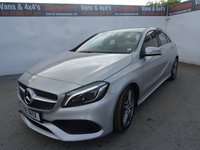 USED 2018 18 MERCEDES-BENZ A CLASS 1.6 A 180 AMG LINE PREMIUM 5d 121 BHP MERCEDES A CLASS AMG LINE PREMIUM