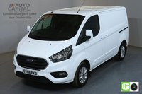 USED 2018 68 FORD TRANSIT CUSTOM 2.0 300 LIMITED L1 H1 SWB LOW ROOF 129 BHP AUTO AIR CON EURO 6 MANUFACTURER WARRANTY UNTIL 03/10/2021